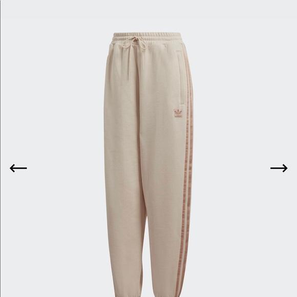 """BNWT Adidas """"cuffed sweatpants"""""""